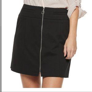 Candies zip up skirt
